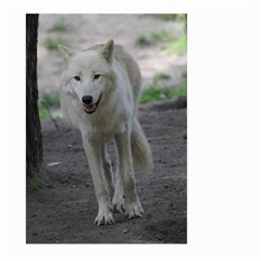 White Wolf Large Garden Flag (Two Sides)