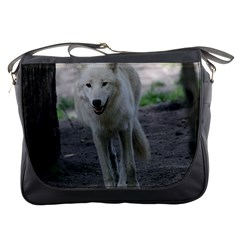 White Wolf Messenger Bags