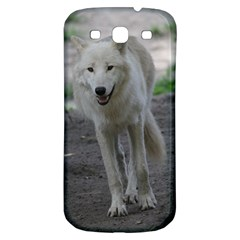 White Wolf Samsung Galaxy S3 S III Classic Hardshell Back Case