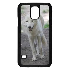 White Wolf Samsung Galaxy S5 Case (black)