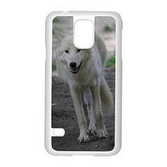White Wolf Samsung Galaxy S5 Case (White)