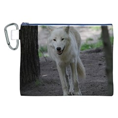 White Wolf Canvas Cosmetic Bag (XXL)