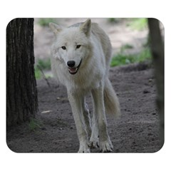 White Wolf Double Sided Flano Blanket (Small)