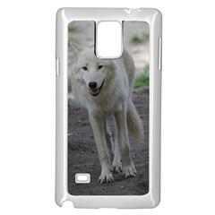 White Wolf Samsung Galaxy Note 4 Case (White)