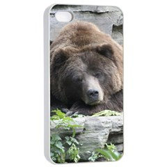 Tired Bear Apple iPhone 4/4s Seamless Case (White)