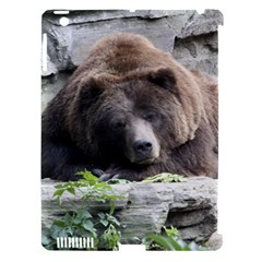 Tired Bear Apple iPad 3/4 Hardshell Case (Compatible with Smart Cover)