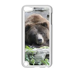 Tired Bear Apple iPod Touch 5 Case (White)