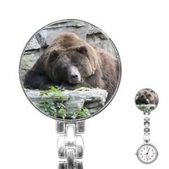 Tired Bear Stainless Steel Nurses Watches