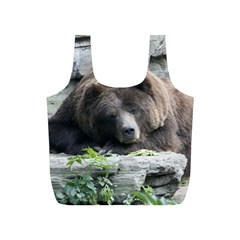 Tired Bear Full Print Recycle Bags (S)