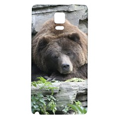 Tired Bear Galaxy Note 4 Back Case