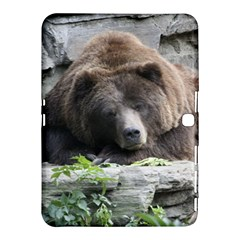 Tired Bear Samsung Galaxy Tab 4 (10 1 ) Hardshell Case
