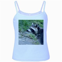 Racoon 1115 Baby Blue Spaghetti Tanks