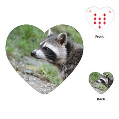 Racoon 1115 Playing Cards (Heart)