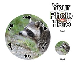 Racoon 1115 Playing Cards 54 (Round)