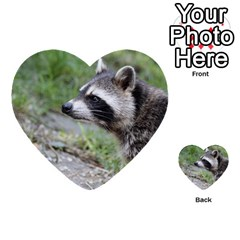 Racoon 1115 Multi-purpose Cards (Heart)
