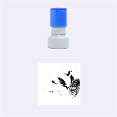 Racoon 1115 Rubber Round Stamps (Small)