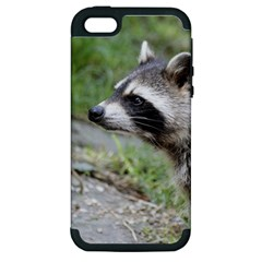 Racoon 1115 Apple iPhone 5 Hardshell Case (PC+Silicone)