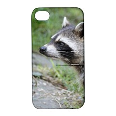 Racoon 1115 Apple iPhone 4/4S Hardshell Case with Stand