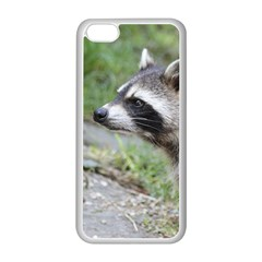 Racoon 1115 Apple iPhone 5C Seamless Case (White)