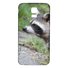 Racoon 1115 Samsung Galaxy S5 Back Case (White)