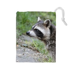 Racoon 1115 Drawstring Pouches (large)