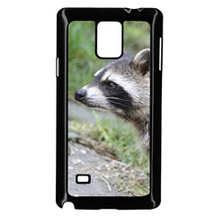 Racoon 1115 Samsung Galaxy Note 4 Case (Black)