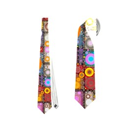 Circles City Neckties (two Side)