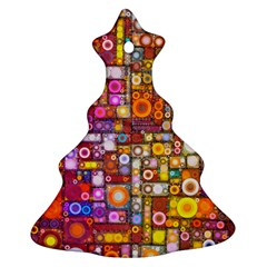 Circles City Christmas Tree Ornament (2 Sides)