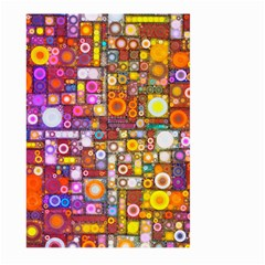 Circles City Large Garden Flag (two Sides)