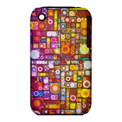 Circles City Apple iPhone 3G/3GS Hardshell Case (PC+Silicone)