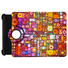 Circles City Kindle Fire HD Flip 360 Case