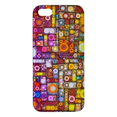 Circles City Apple iPhone 5 Premium Hardshell Case