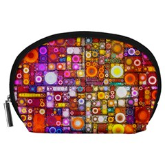 Circles City Accessory Pouches (large)