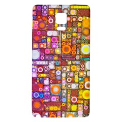 Circles City Galaxy Note 4 Back Case