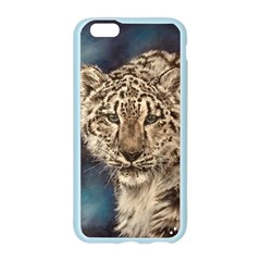 Snow Leopard Apple Seamless iPhone 6/6S Case (Color)