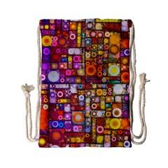 Circles City Drawstring Bag (Small)