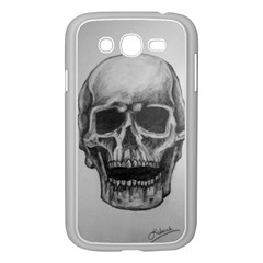 Skull Samsung Galaxy Grand Duos I9082 Case (white)
