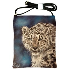Snow Leopard Shoulder Sling Bags