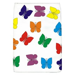 Butterflies Rainbow Colored Flap Covers (L)