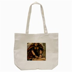 The Queen Of Hearts Tote Bag (Cream)
