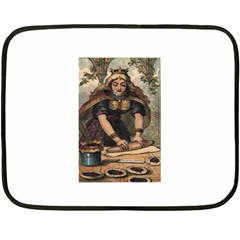 The Queen Of Hearts Fleece Blanket (Mini)