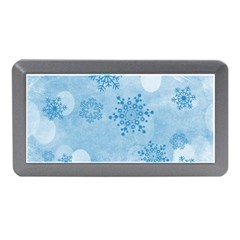 Winter Bokeh Blue Memory Card Reader (Mini)