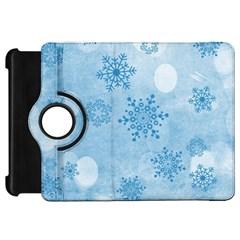 Winter Bokeh Blue Kindle Fire HD Flip 360 Case