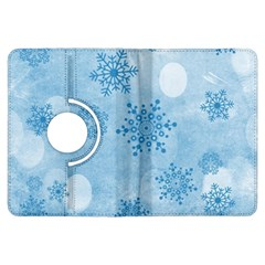 Winter Bokeh Blue Kindle Fire HDX Flip 360 Case