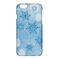 Winter Bokeh Blue Apple iPhone 6 Plus/6S Plus Hardshell Case