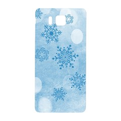Winter Bokeh Blue Samsung Galaxy Alpha Hardshell Back Case