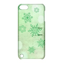 Winter Bokeh Green Apple iPod Touch 5 Hardshell Case with Stand