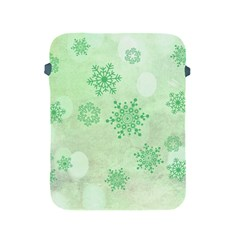 Winter Bokeh Green Apple iPad 2/3/4 Protective Soft Cases