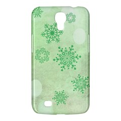 Winter Bokeh Green Samsung Galaxy Mega 6.3  I9200 Hardshell Case