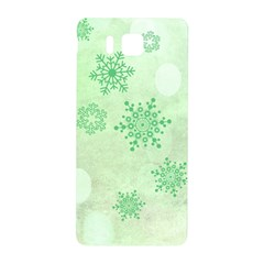Winter Bokeh Green Samsung Galaxy Alpha Hardshell Back Case